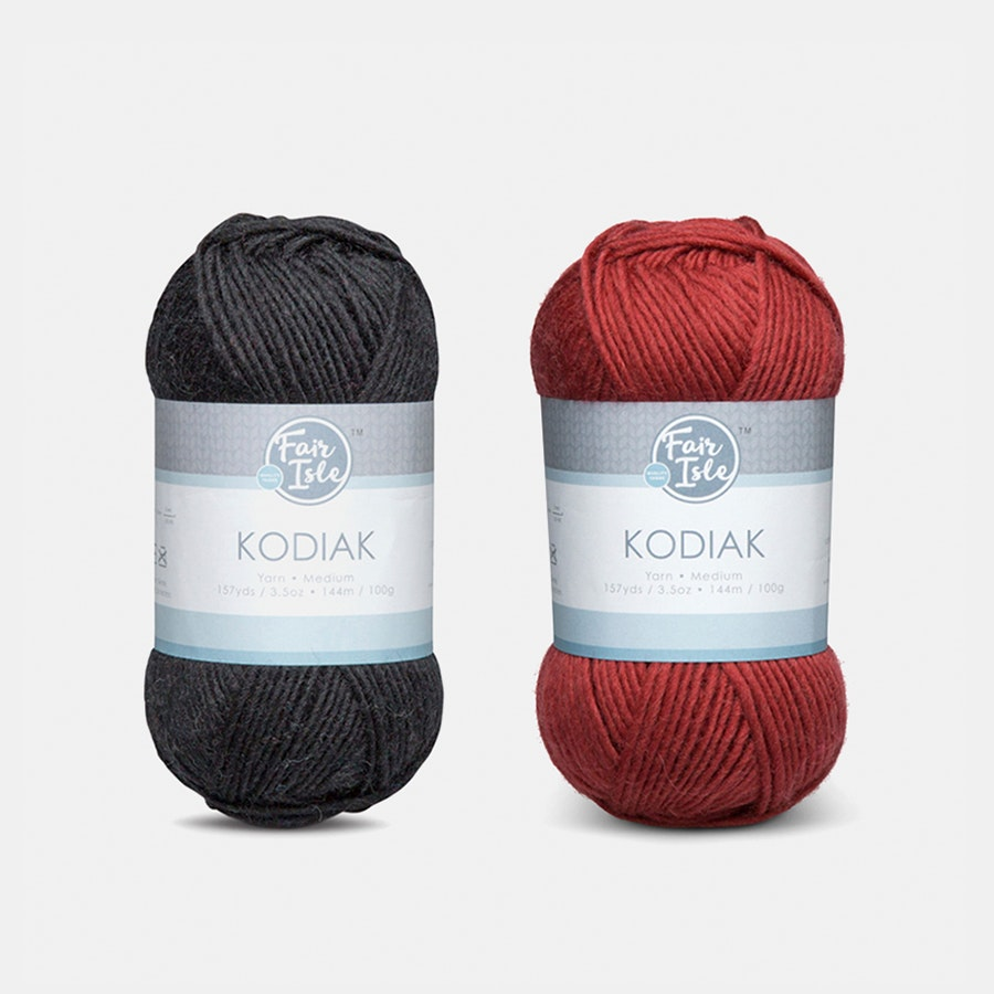 Kodiak Yarn Neutrals by Fair Isle (2-Pack)