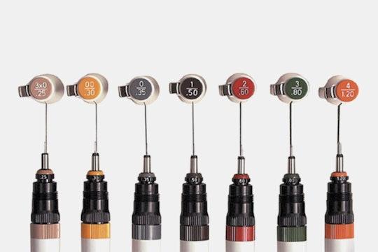 Koh-I-Noor Rapidograph Stainless Steel 7-Pen Set
