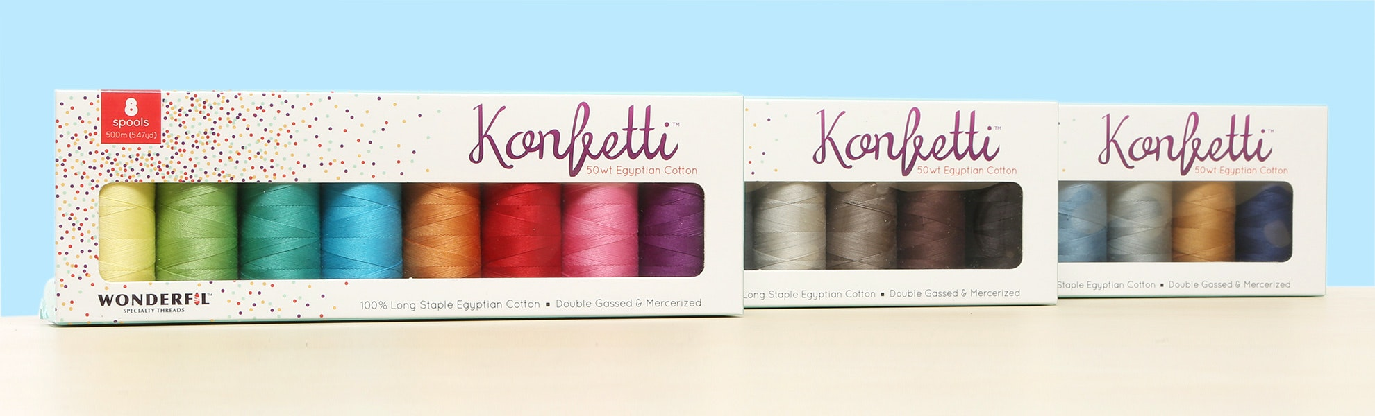Konfetti Thread Collections by WonderFil