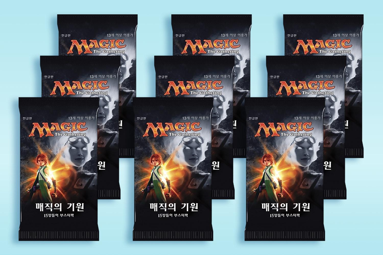 Korean Magic Origins Booster (9-Pack)