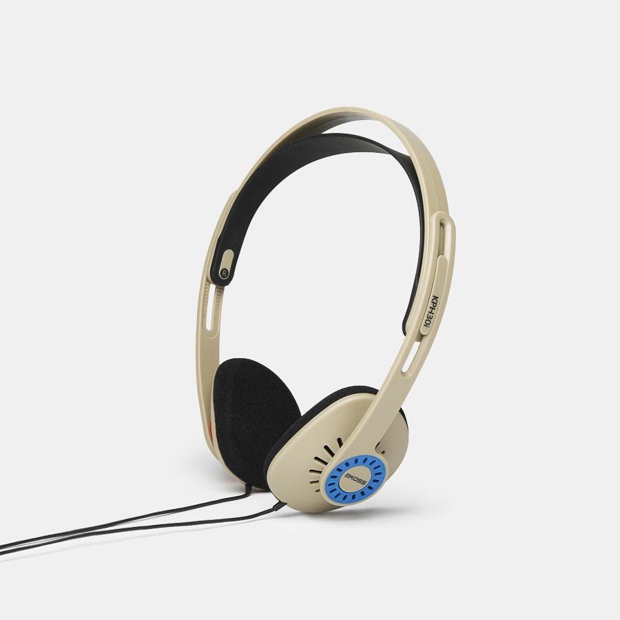 Koss KPH30i Rhythm Beige Headphones