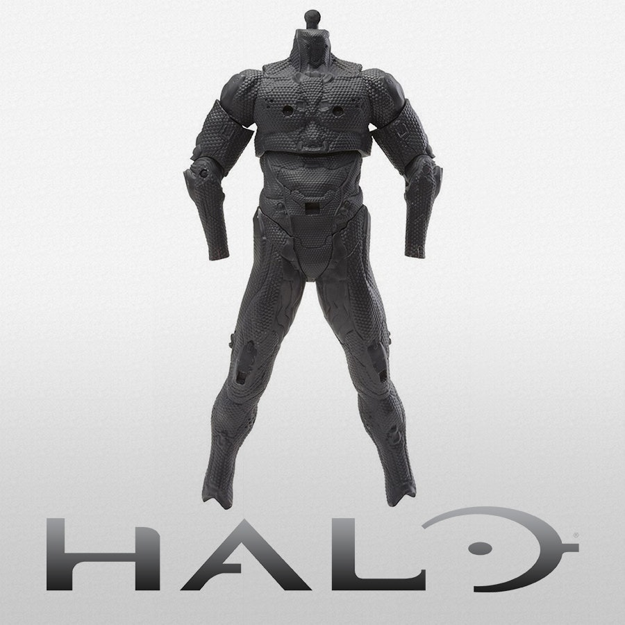 Halo Spartan Tech Suit Basic Body Armor Figure