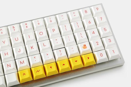 KP Little Yellow Duck DSA Dye-Subbed Keycap Set