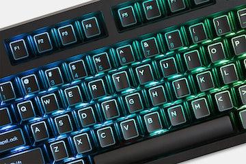 KPrepublic Outlined Shine-Through Keycap Set