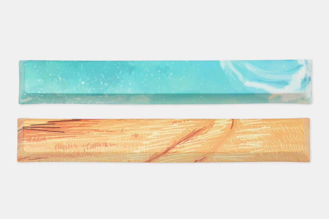 KP Republic PBT Dye-Subbed Spacebars (2-Pack)