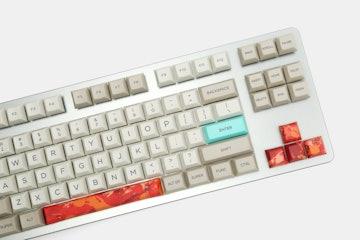 KP Republic PBT Spacebar + Arrows Keycap Set