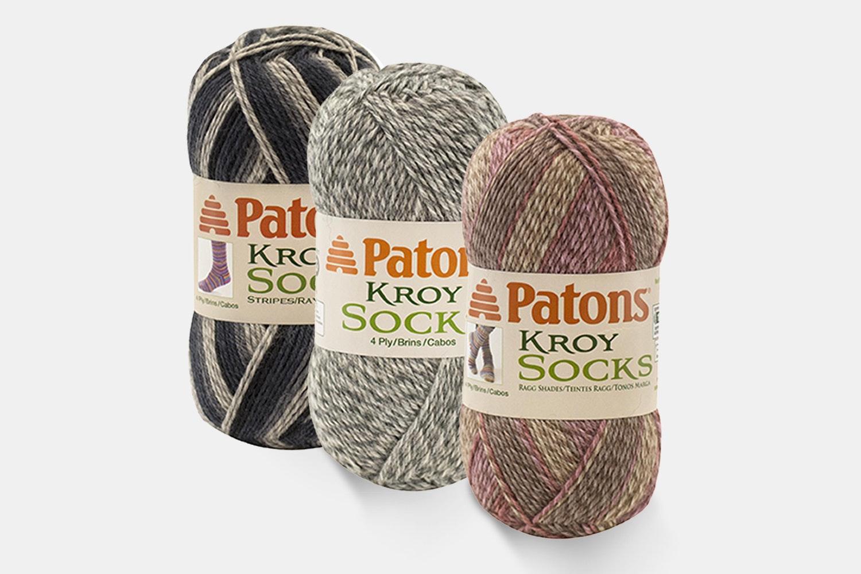 Kroy Socks Yarn Neutral Colors by Patons - 3PK
