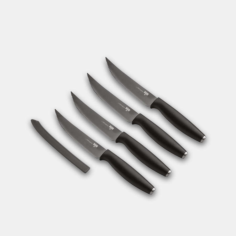 Kuhn Rikon Colori Titanium Steak Knife Set