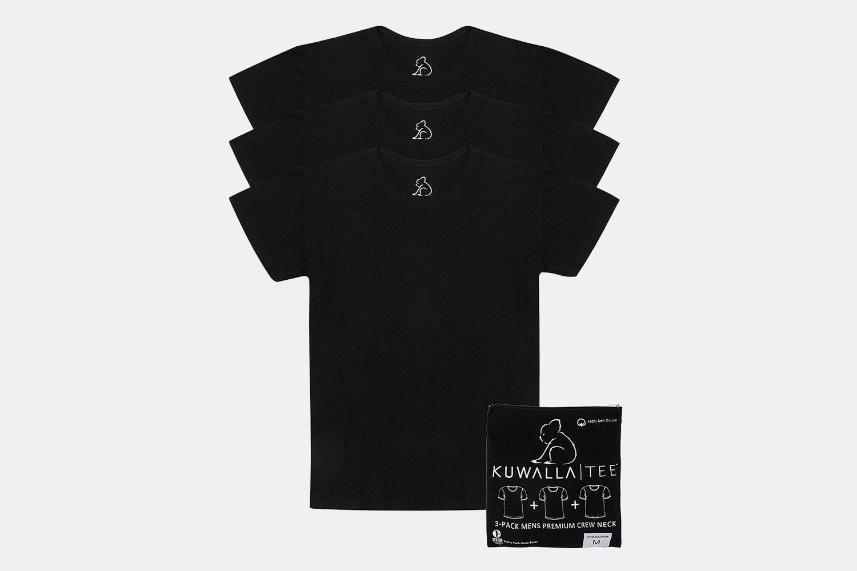 3 Pack V-Neck - Black