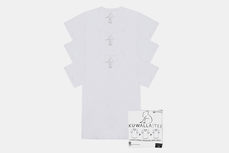 3 Pack V-Neck - White