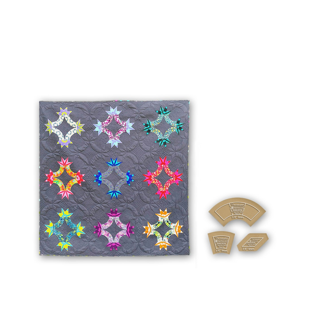 Kwik Sparklers Paper-Piecing Bundle