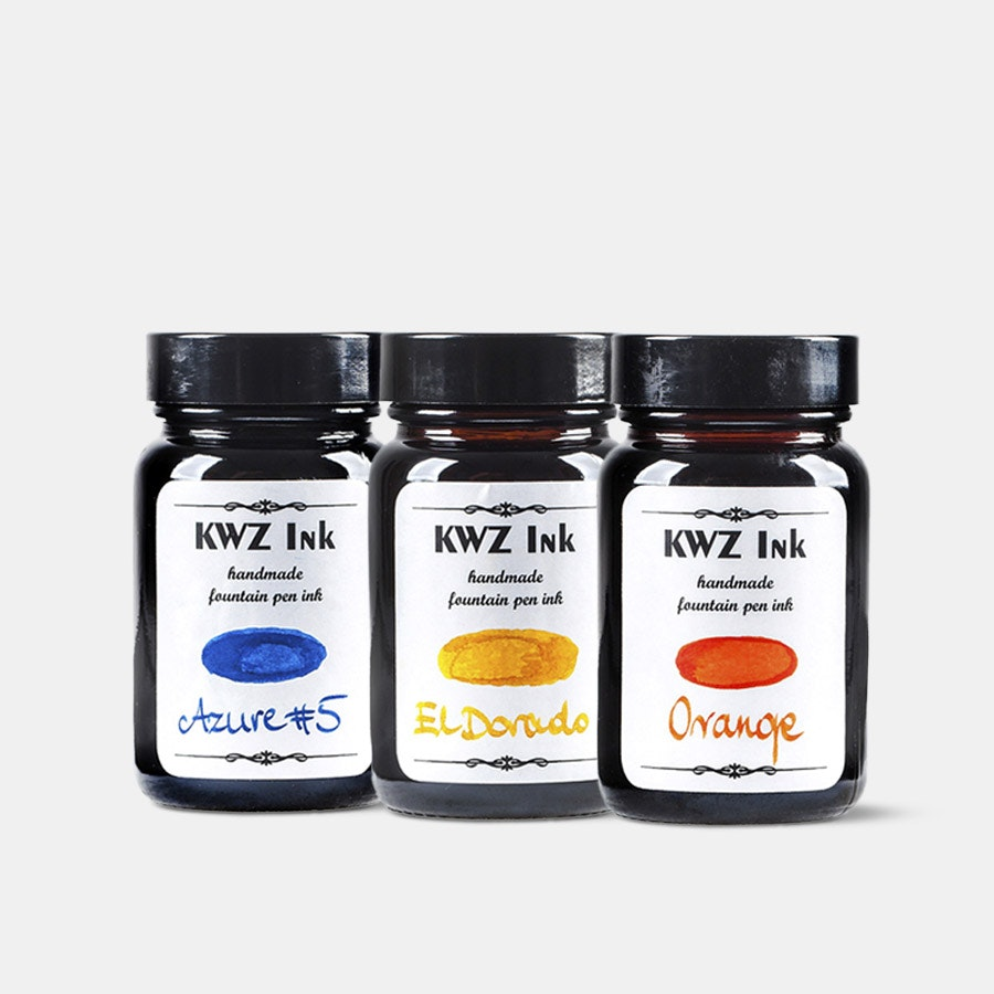 KWZ Standard Fountain Pen Ink (3-Pack)