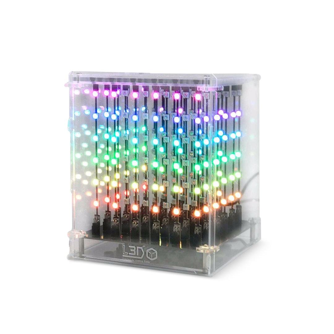 SEEED L3D Cube (6x6x6 Full Color Kit)