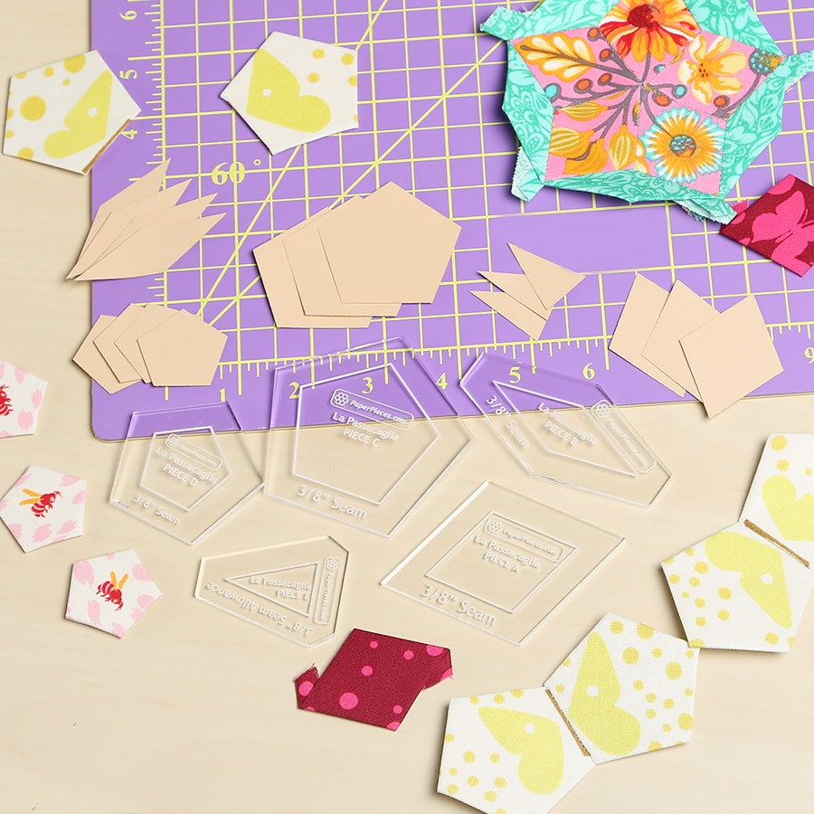 La Passacaglia Complete Paper Piecing Bundle