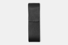 Double Pen Case - Black (+ $3)