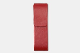 Double Pen Case - Red (+ $3)
