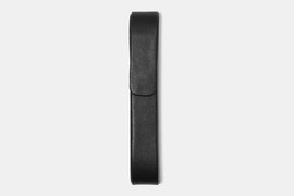 Single Pen Case - Black