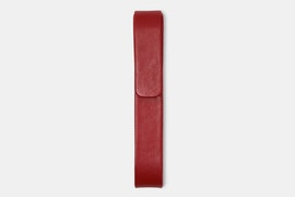 Single Pen Case - Red