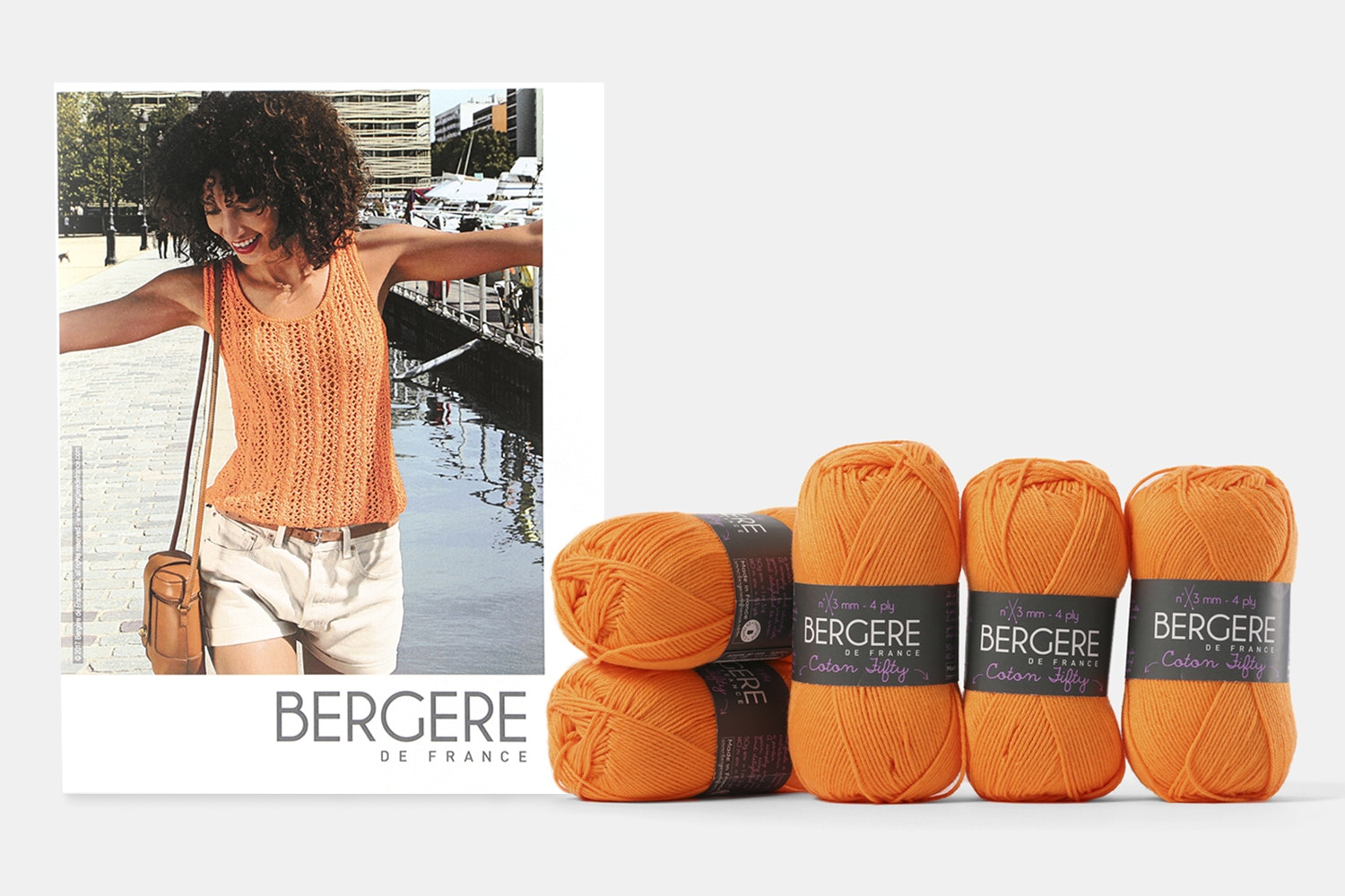 Lacework Top Kit by Bergere De France