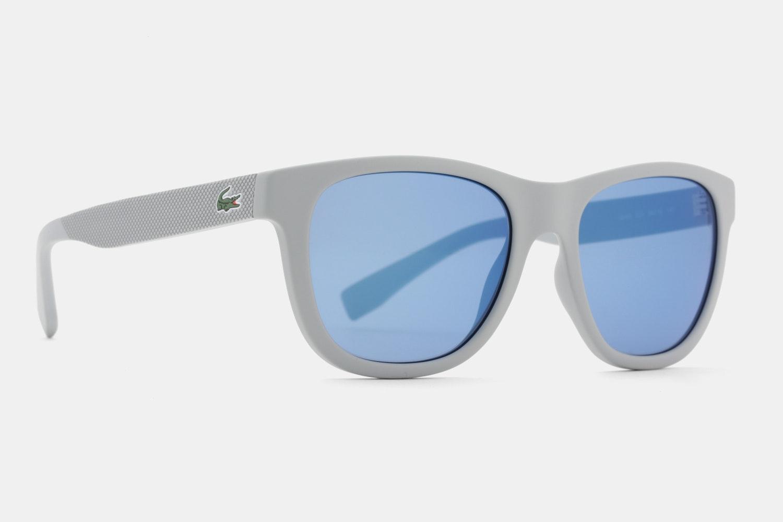 Grey Matte - Blue Mirror