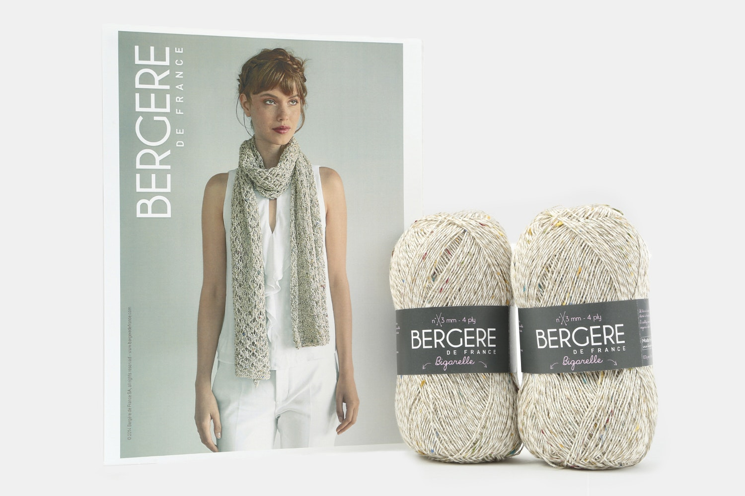 Lacy Scarf Kit by Bergere de France