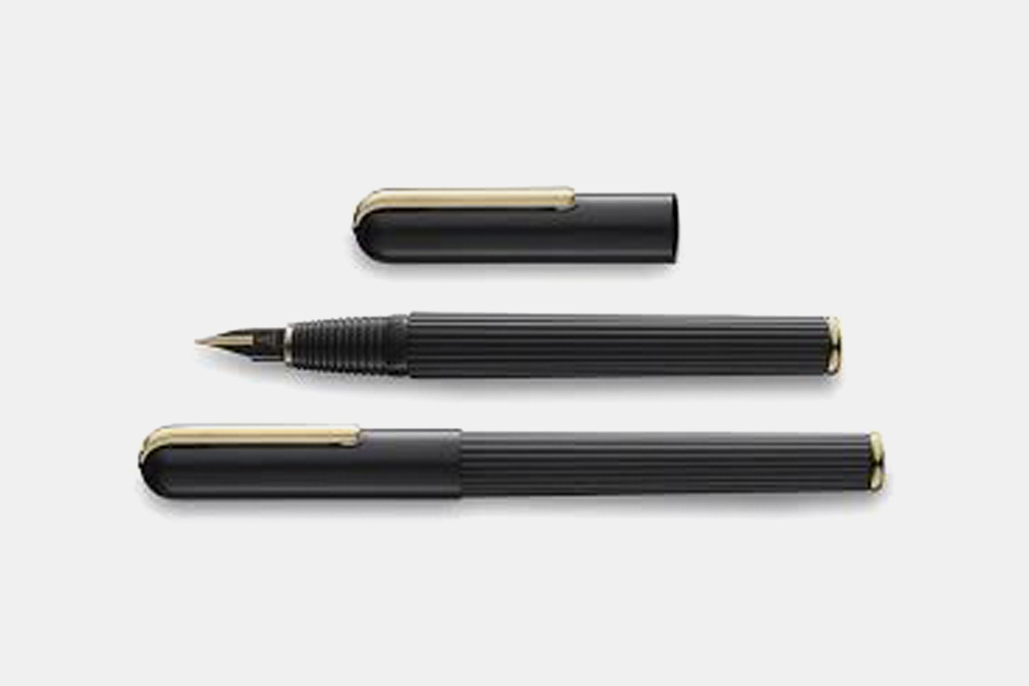 LAMY Imporium Black & Gold Fountain Pen