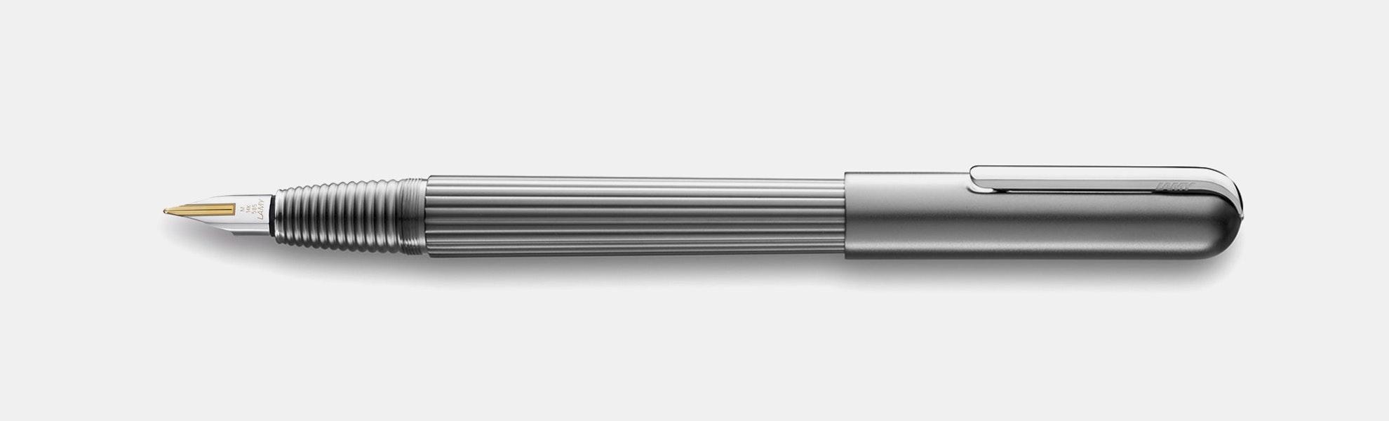 LAMY Imporium Titanium/Platinum Fountain Pen