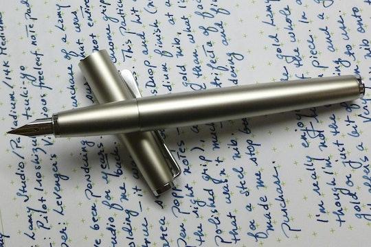 Lamy Studio Palladium Fountain Pen