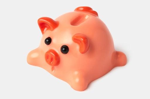 Landcaps Piggy Bank Artisan Keycap