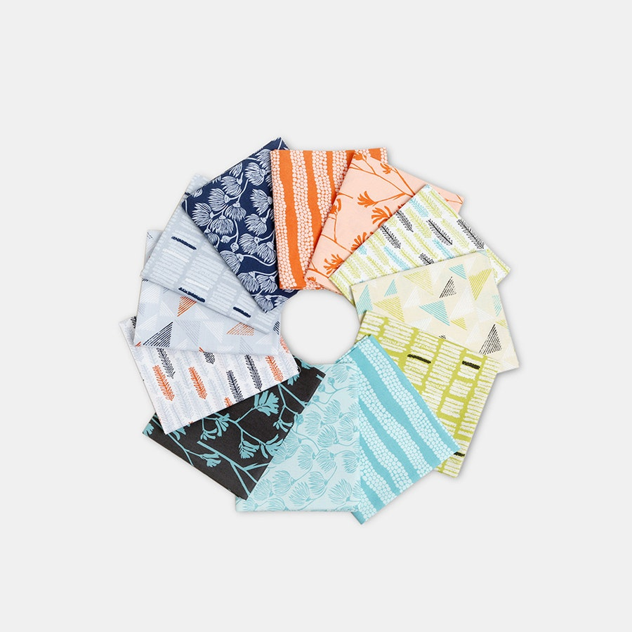Landscape Fat Quarter Bundle by Ink & Spindle