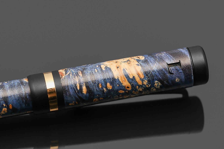 Lanier Classic Black Enamel Fountain Pen
