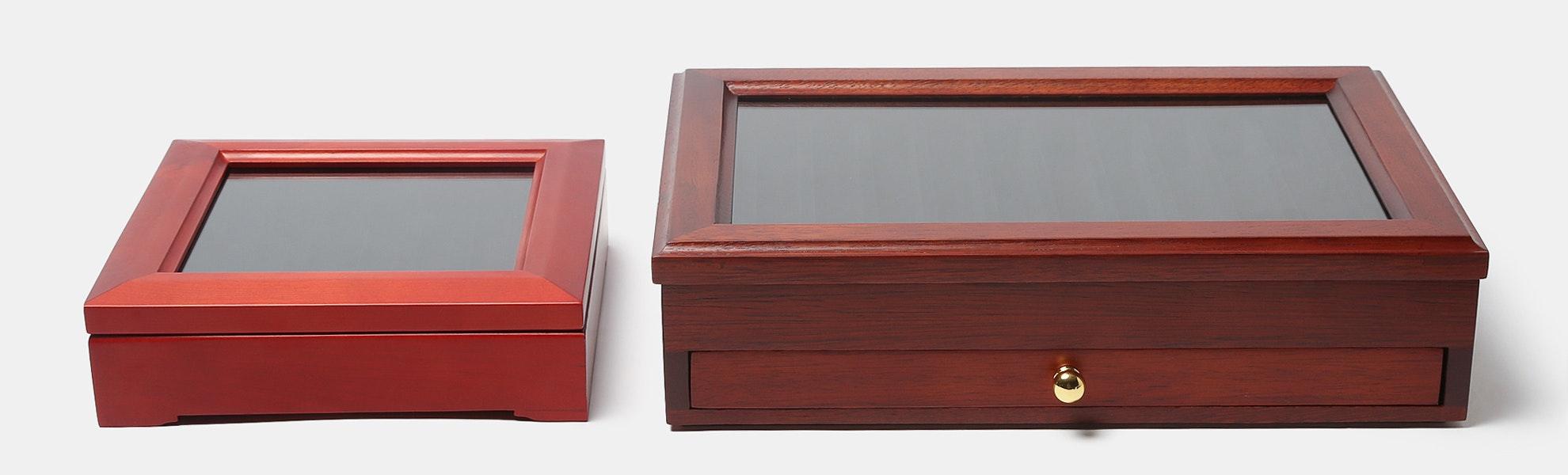 Lanier Wood Display Case