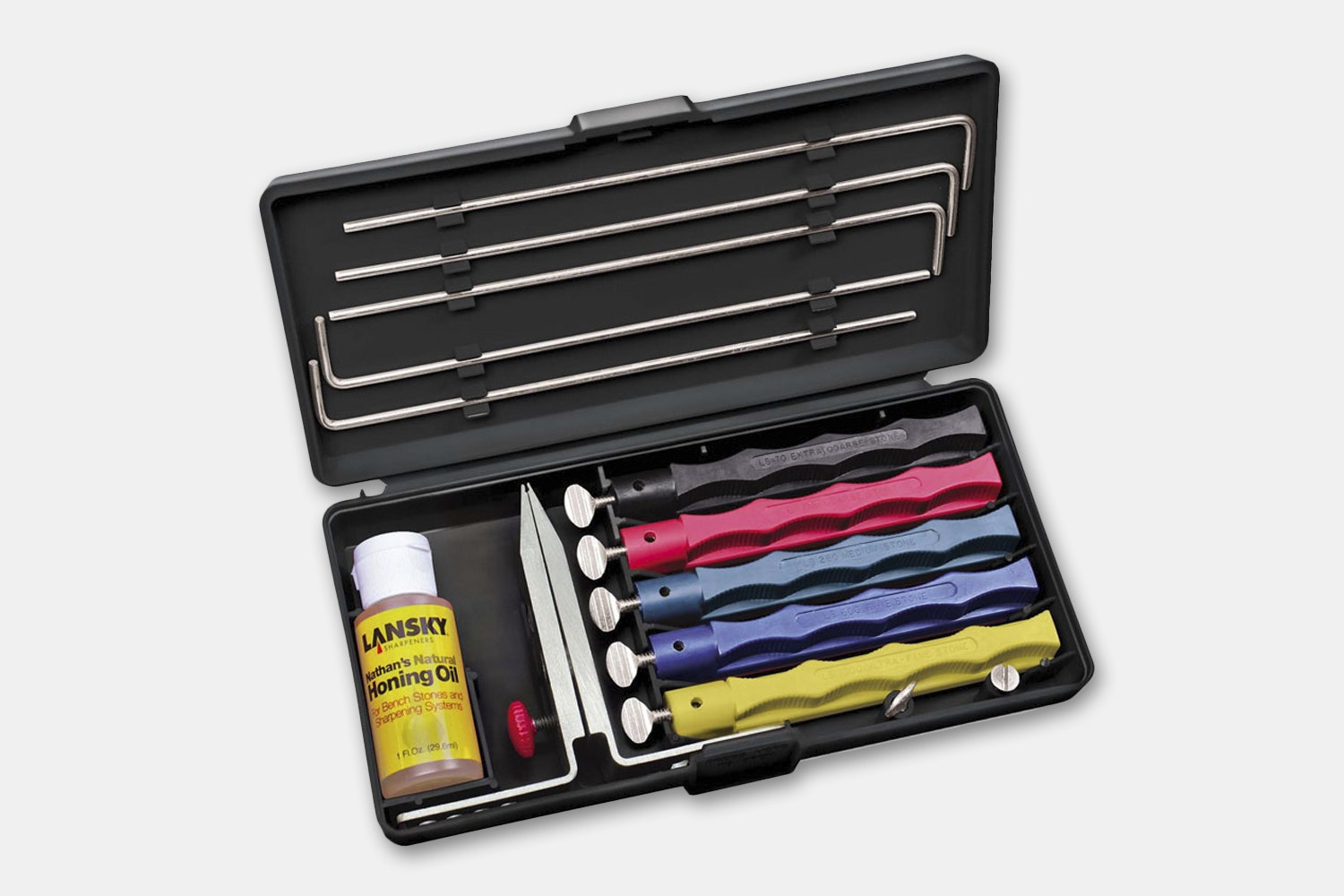 Deluxe 5-Stone Sharpening Set