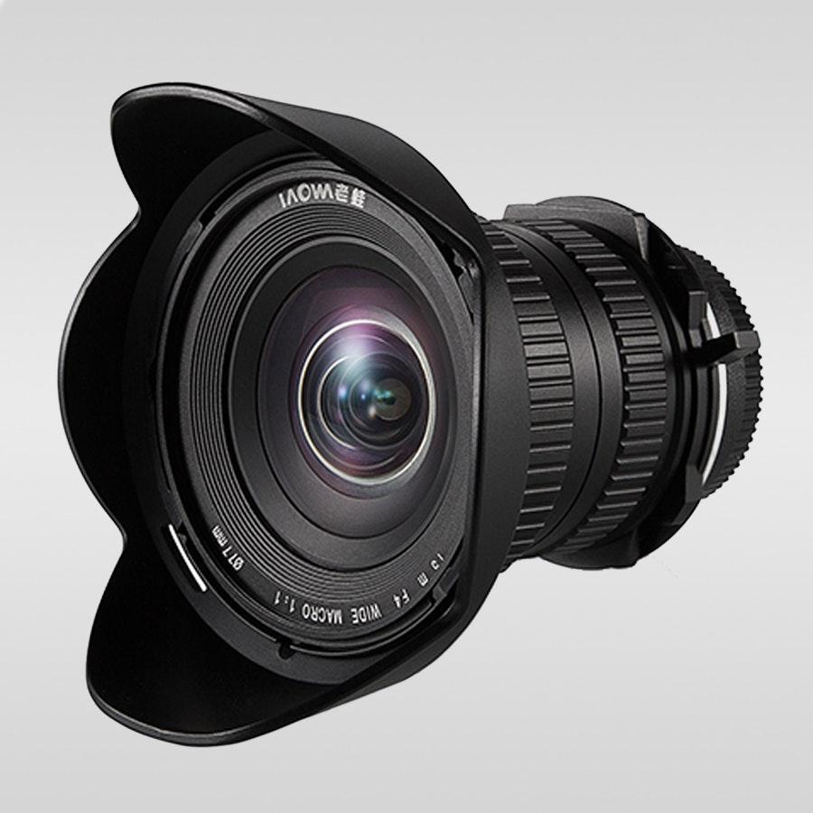 Laowa 15mm F/4 Wide-Angle 1:1 Macro Lens