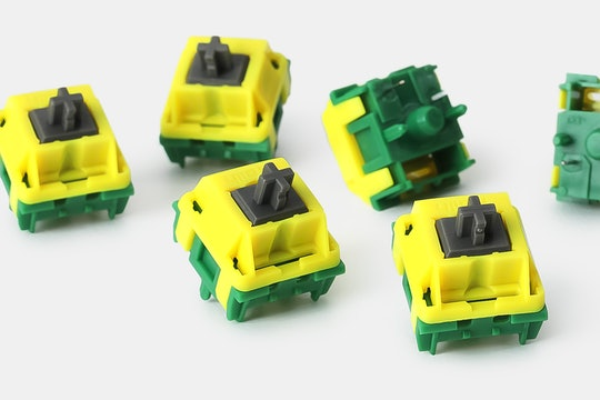DOMIKEY + Kailh Canary Tactile Custom Mechanical Switch