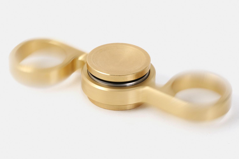 LCKT Flippin' Spinner V2 - Brass or Stainless Steel