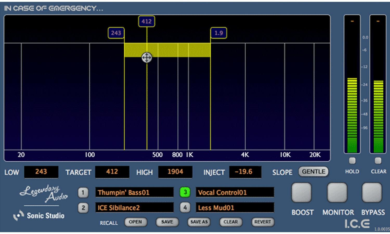 Legendary Audio I.C.E. Plugin