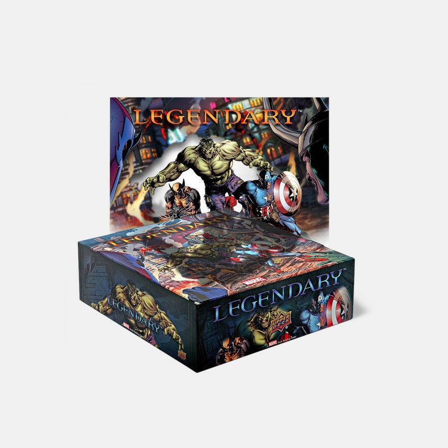 Legendary: Marvel Deck Building Game Bundle