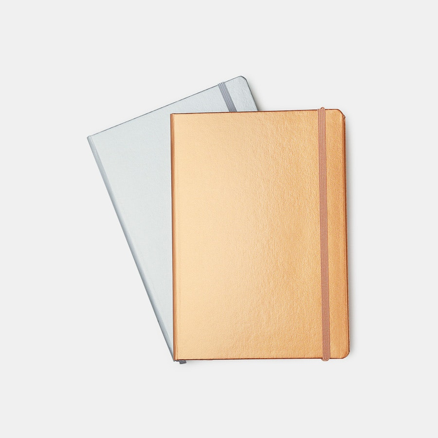 Leuchtturm1917 Metallic Edition Notebooks (2-Pack)