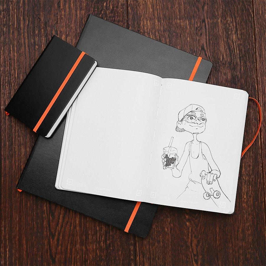 Leuchtturm1917 Whitelines Link Notebooks (2-Pack)