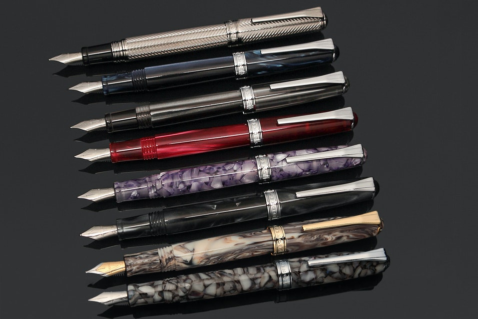 Levenger True Writer Metal Bodied Fountain Pens