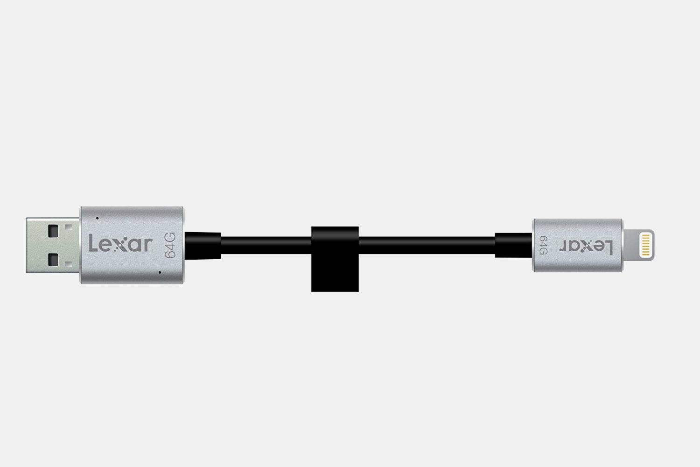 Lexar 64/128GB Flash Drive w/Lightning Connection