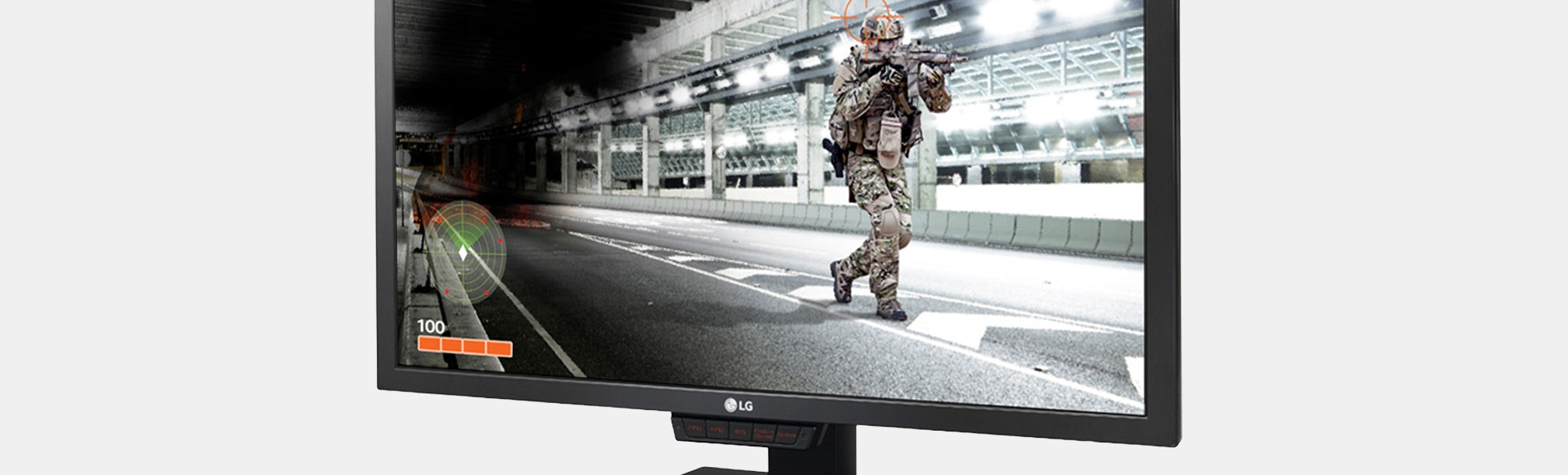 """LG 24"""" 144Hz HD LED Monitor w/optional 2-Pack"""