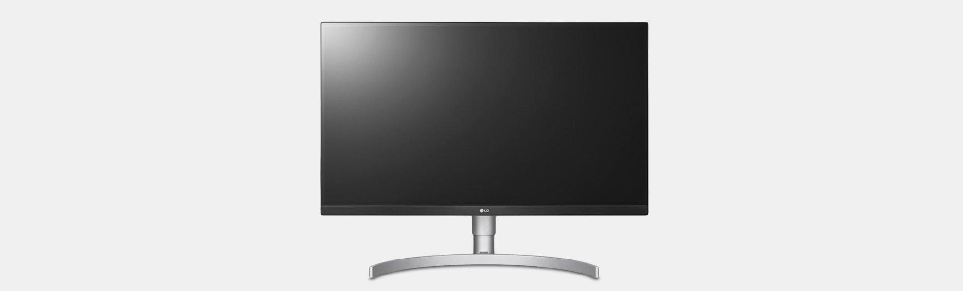 "LG 27"" 4K UHD IPS Monitor w/ HDR 10"