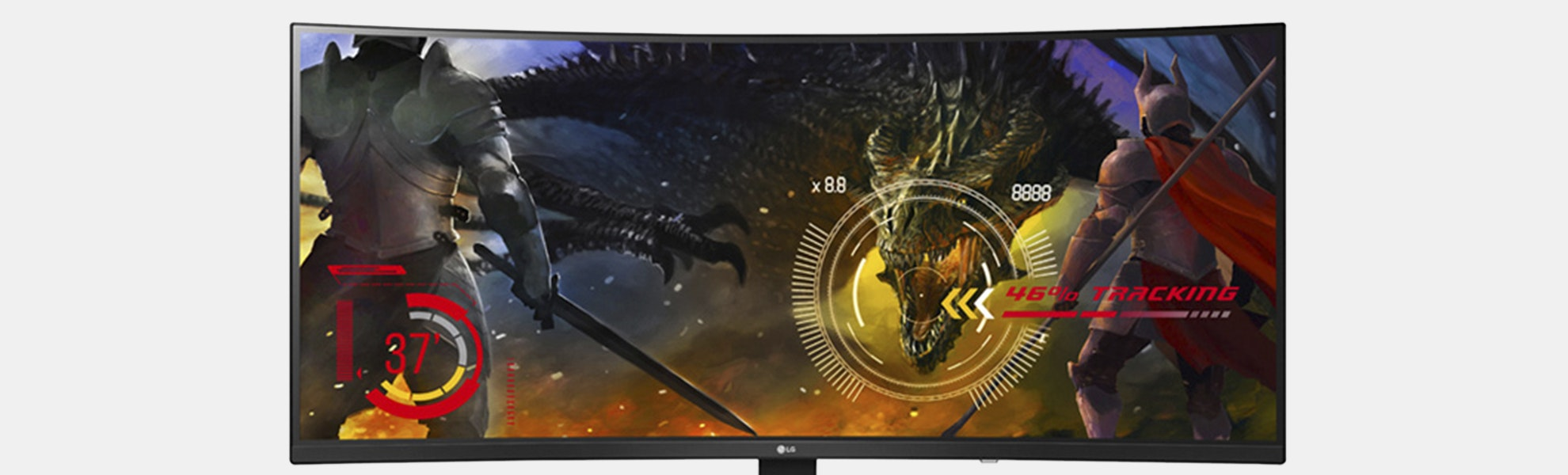 LG 34-Inch 144Hz GSync Curved Ultrawide IPS Monitor