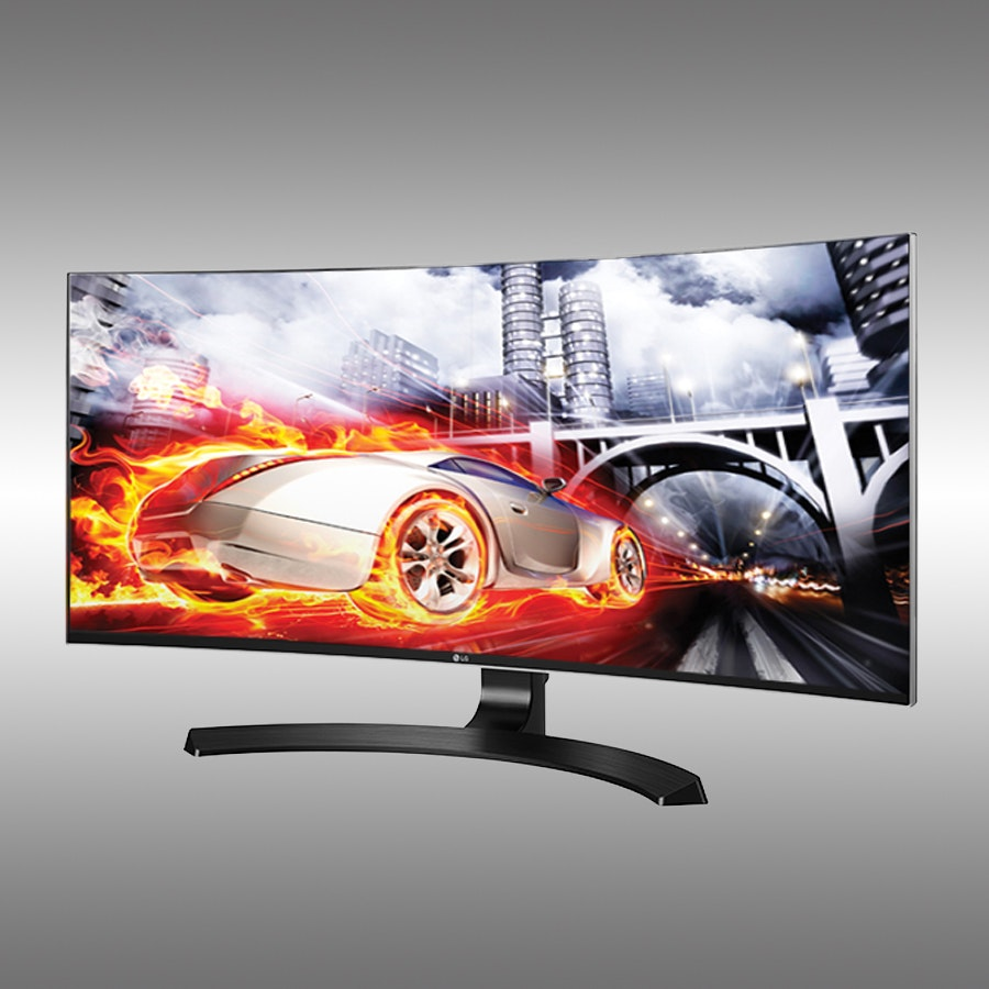 "LG 34"" Curved Ultrawide FreeSync Monitor 34CB88-P"