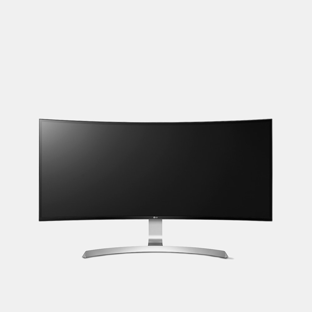 LG 34  Curved Ultrawide Monitor - 34UC99W Minimal Lag, Maximum Detail -- Get the most immersive gaming, viewing, and browsing experience you can with the LG 34-inch curved UltraWide monitor. Featuring a 3440 x 1440 resolution, the curved QHD IPS display offers incredibly sharp picture quality with shortened response times. It boasts a pixel area that's about 1.8 times larger than a full HD 21:9 monitor and 2.4 times larger than a full HD 16:9 monitor. Its FreeSync technology eliminates tearing and stuttering to provide natural, fluid movements during fast-paced gameplay. The Black Stabilizer feature enhances details in black or darkened areas, while the Dynamic Action Sync prevents action lag. The display's USB Type-C port reduces clutter by letting you stream 4K video, transfer data, and charge your devices with a single cable. Finally, USB 3.0 Quick Charge allows you to charge your mobile devices up to four times faster than regular USB 3.0.