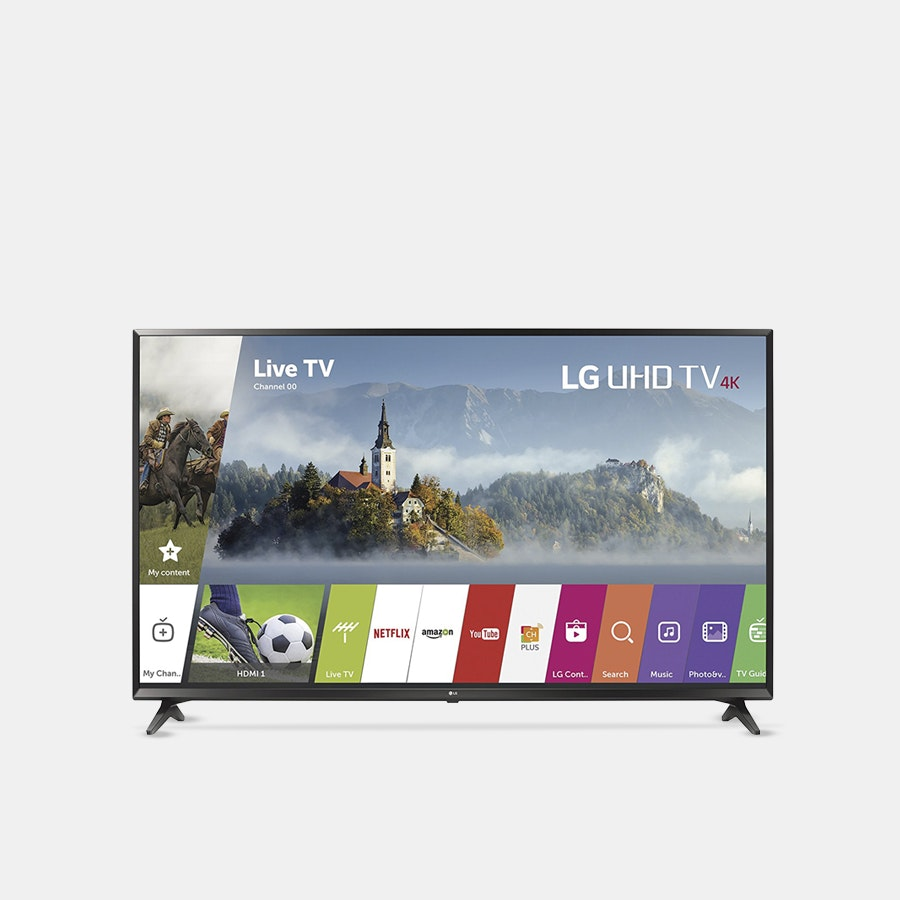 LG 43-Inch 4K UHD HDR Smart LED TV