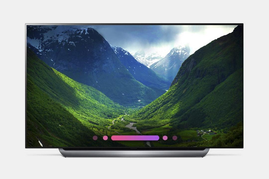"""LG 55/65/77"""" C8 4K OLED TV w/HDR, Smart AI & ThinQ"""