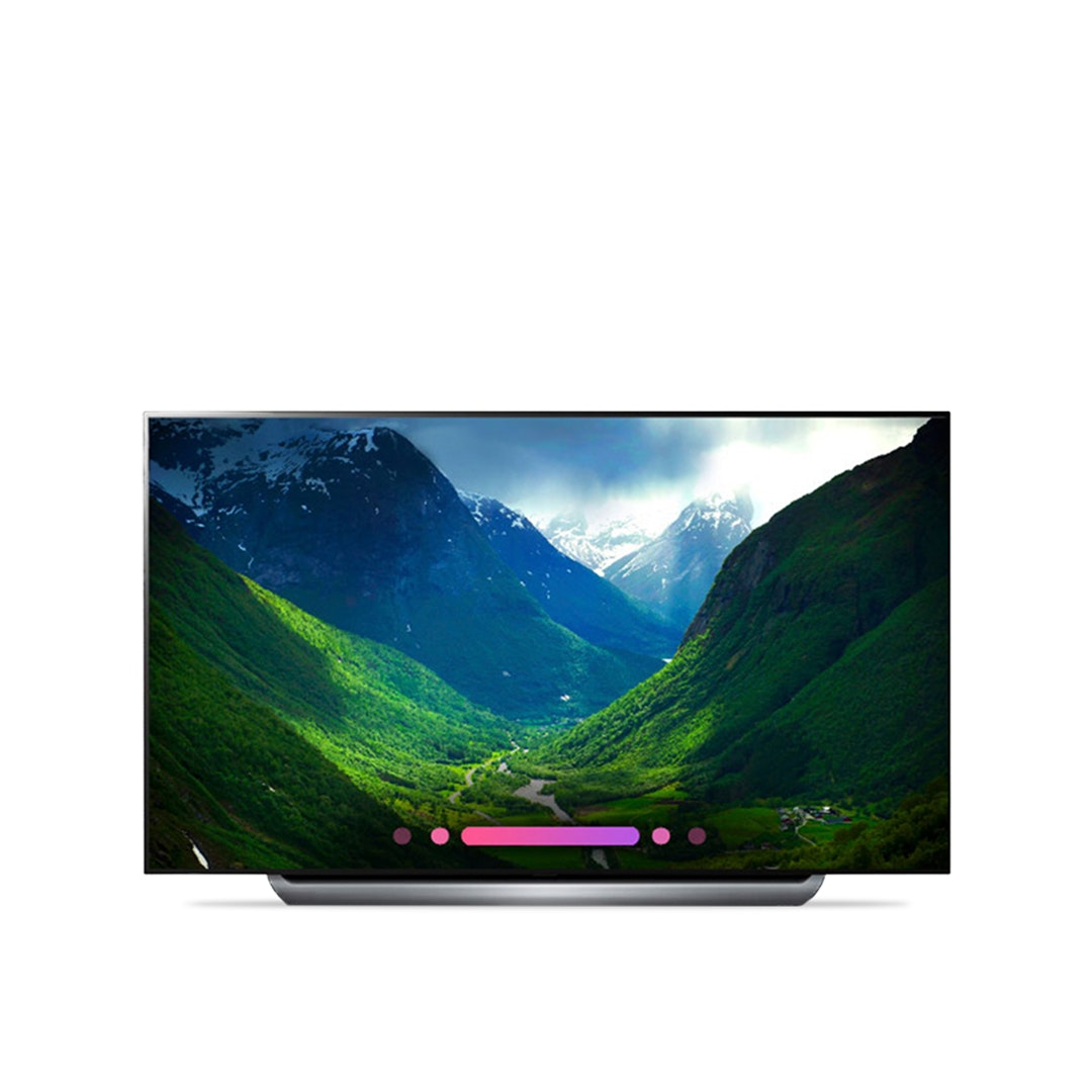 "LG 55/65/77"" C8 4K OLED TV w/HDR, Smart AI & ThinQ"